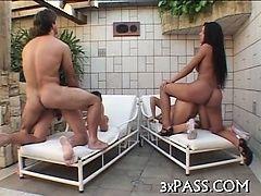 Тройной трах бисексуала