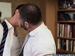 Мормон трахнул попку