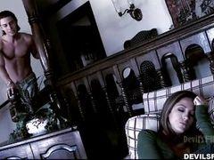 Jenna Haze играет Беллу в порно пародии Сумерки